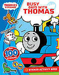THOMAS THE TANK ENGINE - BUSY DAYS STICKER ACTIVITY BOOK 100+ STICKERS