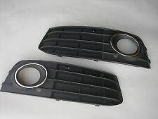 Audi A4 B8 2009-2011 2 Grilles De Parechoc Anti-Brouillards L+R Sans Phares