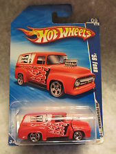 Hot Wheels  '10 HW Performance  '56 Ford  Red  NOC 1:64 scale  (1115)  R5732