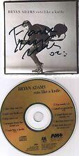Adams, Bryan Cuts Like A Knife Japan Gold CD Autogramm