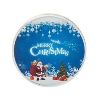 Silver Plated Santa Claus Commemorative Coin Christmas Xmas Gift Collection IH