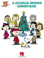 A Charlie Brown Christmas Five Finger Piano Songbook NEW 000316069
