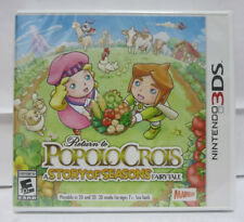 Return to PoPoLoCrois A Story of Seasons Fairytale Nintendo 3DS Brand NEW Sealed