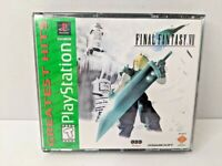 Final Fantasy VII 7 PlayStation PS1 Game - No Manual - Very Good Condition