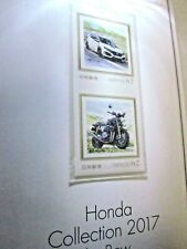 Honda Limited Stamps Set Collection Japanese Shareholders CIVIC TYPE R CB1100 RS