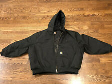 CARHARTT Men's Extreme Coat 4xl Black Jacket Arctic Quilt Lined C55 Work.