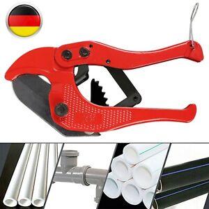 Rohrschere Rohrschneider Rohrabschneider Für Kunststoffrohre PVC PP PE Bis 42mm