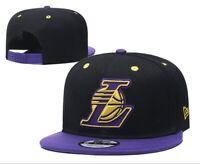 Los Angeles Lakers New Era 9Fifty NBA Black Finals Adjustable Snapback Hat Cap