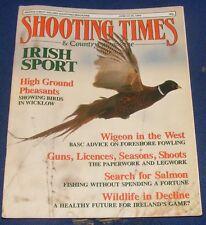 SHOOTING TIMES MAGAZINE JUNE 22-28 1989 - IRISH SPORT