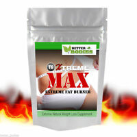 Xtreme MAX™ Strong Fat Burners Diet Weight Loss Strongest Slimming Pills Safe