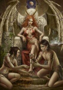 The Last Throne Of the Moon - 1000 piece puzzle / cris ortega, fantasy art