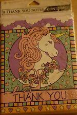 Unicorn Thank You Cards Set Of 8 Plus Envelopes Sealed