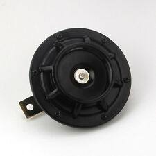 New Black 12V Super Loud Compact Electric Blast Tone Horn for MOTORCYCLE Chopper