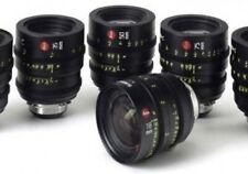 Leica Summicron-C PL Lens Set 18, 25, 35,50, 75, 100 (We Buy Lenses )