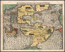 1763 Map Florida Gulf Coast Atlas POSTER very early Gazzetiere Americano 12441