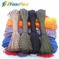 250 Colors 550 Type III 7 Stand 100FT 50FT Paracord Cord