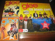 Glee TV show CD Board Game+Complete First&Second Season DVD 1 2 set Jane Lynch