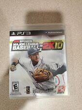 Sony PS3 Major League Baseball 2K10 1999-2009 Tenth Anniversary Video Game 2010