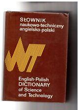Słownik naukowo-techniczny angielsko-polski English-Polish Dictionary of Science