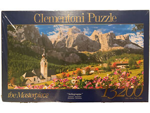 13200 Pieces Jigsaw Puzzle Clementoni Sellagruppe Dolomites Very Rare Brand New