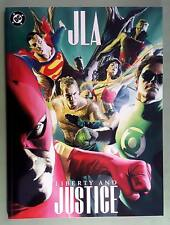 JLA, LIBERTY and JUSTICE, DC,TREASURY ED, NM-, ALEX ROSS/PAUL DINI (SHIPS FREE)*