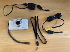 NIKON  COOLPIX  S32  13.2MP Waterproof Camera - WHITE