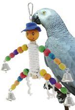 New listing Bonka Bird Toys 1053 Happy Rope Man Bird Toy Parrot Parakeet Conure African grey