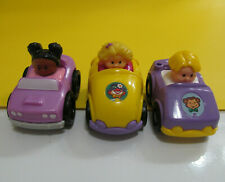 Fisher Price Little People Wheelies Vehicle Car  Lot of 3 Mexico