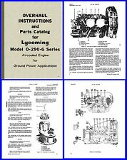 Lycoming o 290 ebay lycoming o 290 g ground power unit manuals x3 on cd sciox Image collections