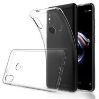 Handy Case für Xiaomi Redmi Note 5 Hülle Transparent Tasche Handyhülle Cover