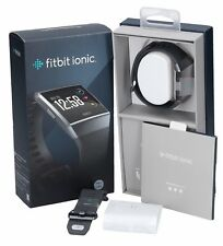 Fitbit Ionic Smartwatch, Charcoal/Smoke Gray , One Size (S & L Bands Included) *