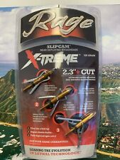 "New Rage X-Treme Extreme Sc Expandable 2 Blade 100 Gr 2.3"" Cut"