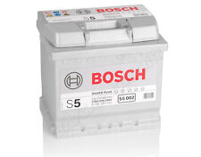 Autobatterie BOSCH 12V 54Ah 530 A/EN S5 002 54 Ah TOP ANGEBOT SOFORT & NEU