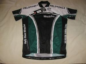 Primal Cycling Jersey New W/Tags Scots Miracle-Gro Men's Small Sport Cut Bike