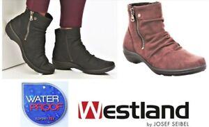 Josef Seibel Westland formerly Romika Waterproof comfort ankle boots Dora 07