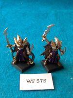 Warhammer Fantasy - Dark Elves - Black Ark Corsairs x2 - Metal WF573