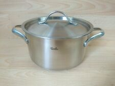 FISSLER 20cm INDUCTION POT STAINLESS STEEL 18-10