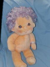 """Vintage Kenner Hugga Bunch Impkins Plush Doll Purple 1985 17"""" Hallmark"""