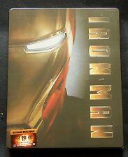 IRON-MAN - BLUFANS EXCLUSIVE #20 VERSION 1 -  EMPTY SEALED STEELBOOK * MARVEL