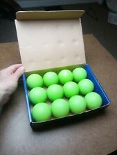 Lacrosse Champion Sports Green One Dozen Green Rubber Meets Ncaa Specs