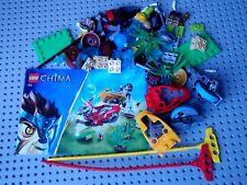 Lego Set 70113 Chima: CHI Battles, Complete + Manual