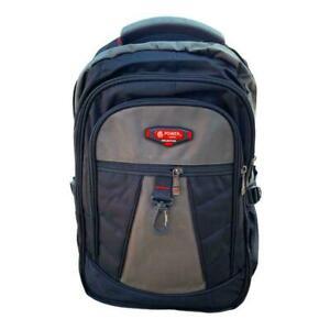Backpack Men Woman Handbag School Shoulder Bag Travel Laptop Bag Blue Black UK