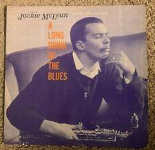 "Jackie McLean Prestige/ New Jazz 8253 LP ""A Long Drink of the Blues"" DG Mono RVG"