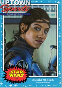 Topps Star Wars Living Set® Card #215 - Koska Reeves  PRE-SALE.