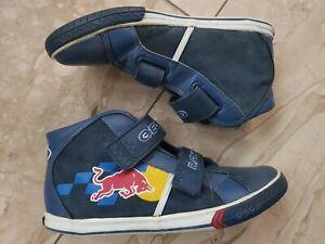 Geox Boots Sneaker Gr. 38  Red Bull Edition  Klettverschluss