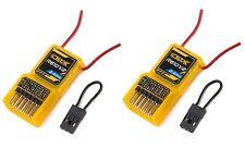 2 X OrangeRx R610 V2 6ch 2.4ghz Receivers Orange RX CPPM DSM2 Multirotor