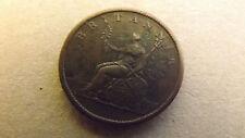 GREAT BRITAIN HALF PENNY 1807 GOOD VF