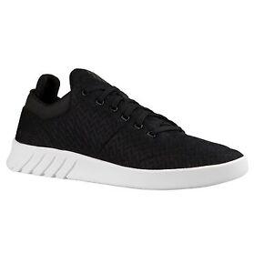 K-Swiss Aero Lightweight Mesh Trainer Casual Sporty Gym Sneaker Shoe Black White