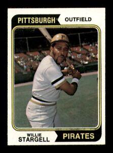 1974 Topps Set Break # 100 Willie Stargell NM *OBGcards*