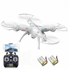 2 Batteries Syma X5SW Explorers Wifi FPV 2.4G 4CH RC Quadcopter Drone HD Camera